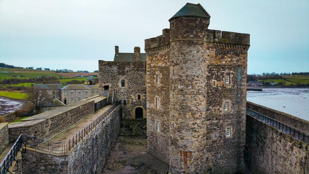 Blackness Castle in Winter