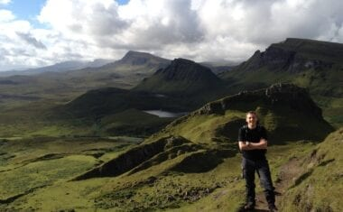 James on the Skye Trail