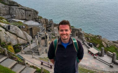 Scott from Absolute Escapes at the Minack Theatre