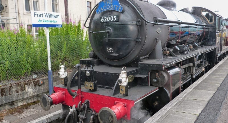 Jacobite Steam Train in Fort William
