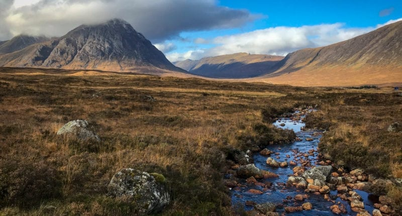 Spectacular scenery on the West Highland Way