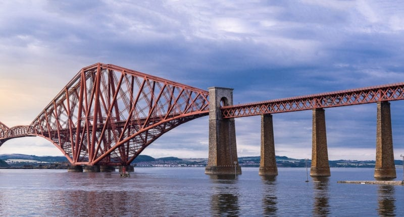 The 19th century Forth Bridge