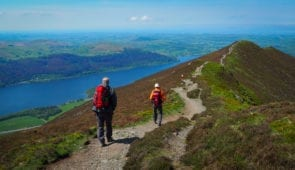 Absolute Escapes clients on the Cumbria Way