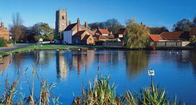 Great Massingham - a pretty village on the Peddars Way