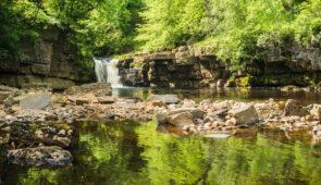 Kisdon Force waterfall near Keld