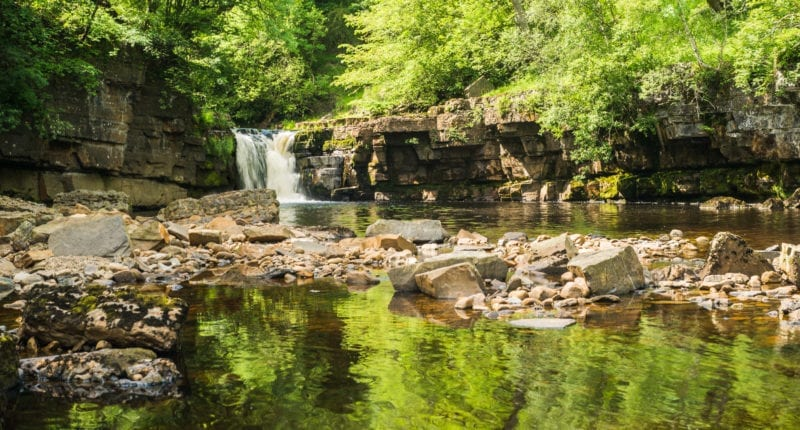 Kisdon Force waterfall near Keld