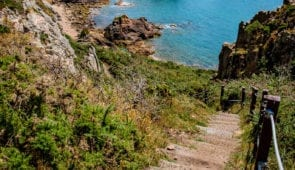 Picturesque Fiquet Bay on Jersey