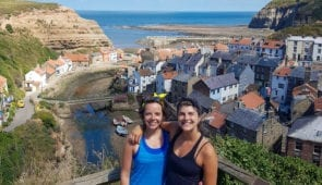 Views of the village of Staithes