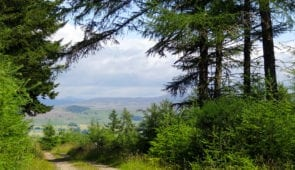 Highland Scenery on the Rob Roy Way