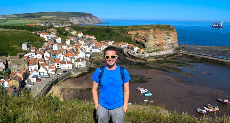 Scott from Absolute Escapes and the village of Staithes