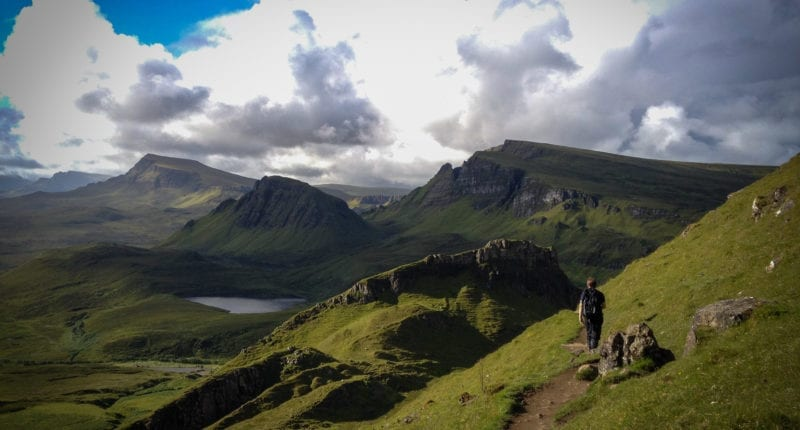 Trotternish Ridge to the Old Man of Storr