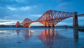 The Forth Rail Bridge from South Queensferry