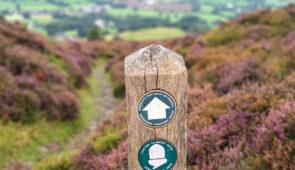 Offa's Dyke Path signpost