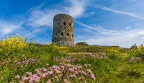 A Guernsey loophole tower found all along the coast