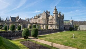 Abbotsford House - home of Sir Walter Scott