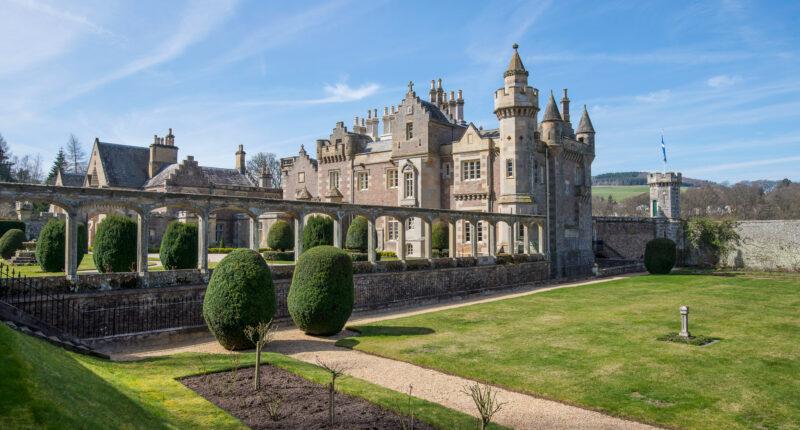 Abbotsford House - home of Sir Walter Scott
