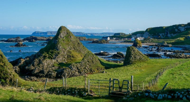 Ballintoy Harbour on the Causeway Coast Way