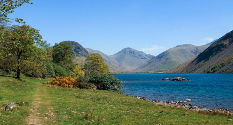 The path between Nether Wasdale and Buttermere