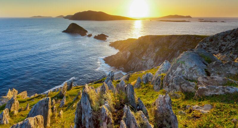 Views of the Blasket Islands