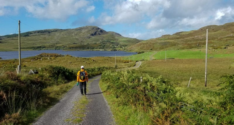 An Absolute Escapes client on the Kerry Way