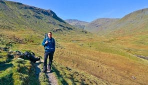James from the Absolute Escapes team on the Tour of the Lake District