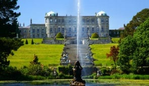 Powerscourt House and Gardens near Enniskerry