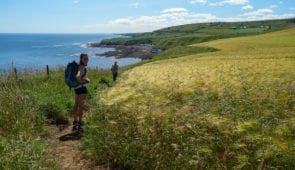 Walking from Eyemouth to Berwick-on-Tweed