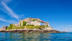 Castle Cornet on Guernsey