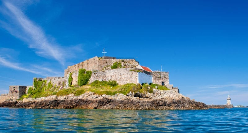 Castle Cornet on Guernsey