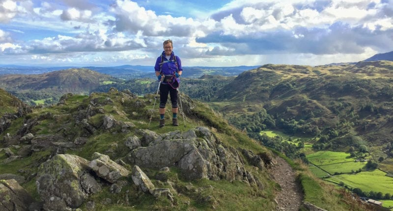On top of the world in the Lake District