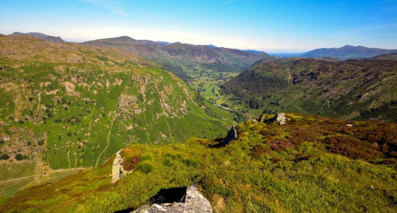 The incredible Borrowdale Valley