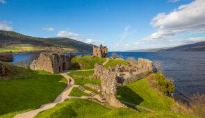 Urquhart Castle on Loch Ness