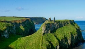 Dunseverick Castle on the Causeway Coast Way