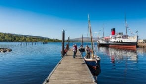 Maid of the Loch by Loch Lomond