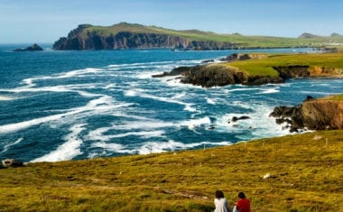 Spectacular views of Dunmore Head