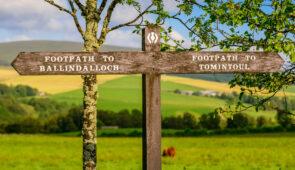 Speyside Way signpost