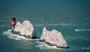 The Needles of the Isle of Wight