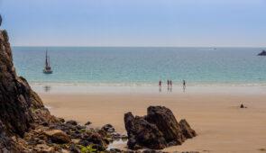 Beach life on Guernsey