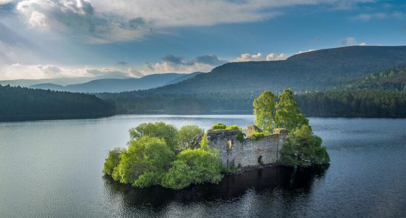 Views over Loch an Eilein