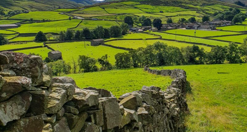 Rolling hills over Thwaite
