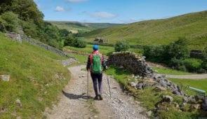 Walking towards Keld in the Yorkshire Dales