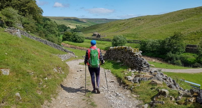 Walking towards Keld in the Yorkshire Dales