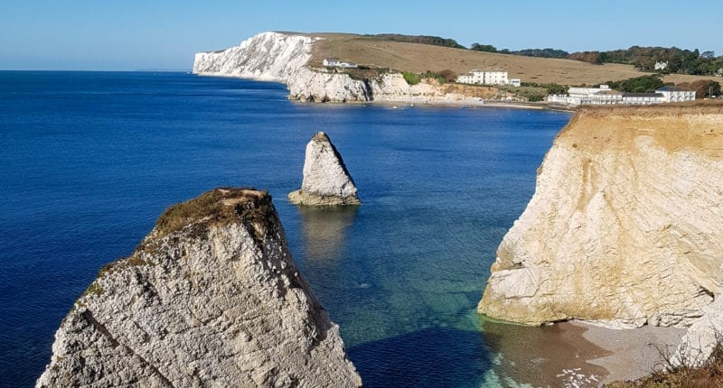 Coastal views from the Isle of Wight Coastal Path