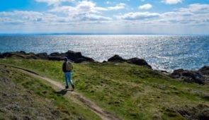 Fife Coastal Path between Lower Largo and Elie