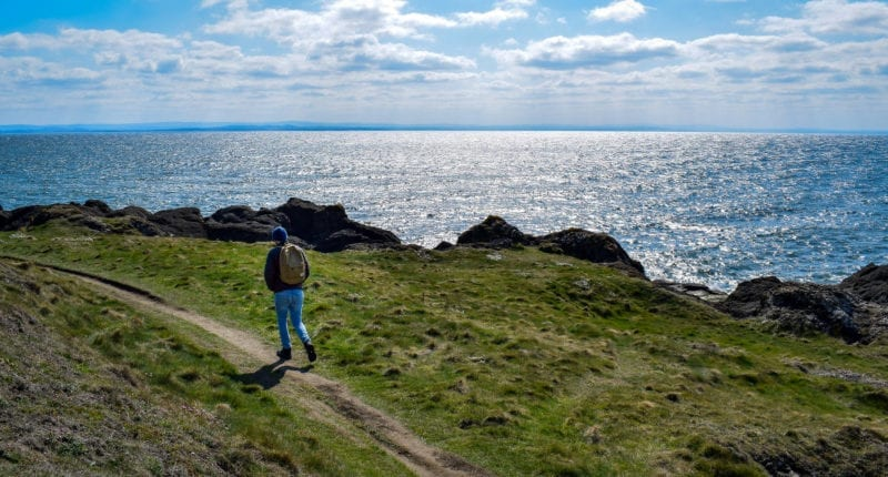 Fife Coastal Path between Lower Largo and Elie