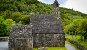 Glendalough monastic settlement founded in the 6th century by St Kevin
