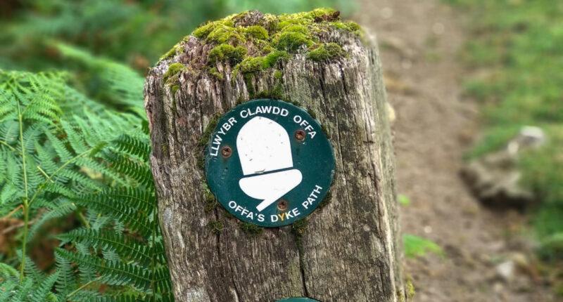 Offa's Dyke Waymarker