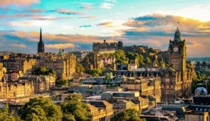 Discover the historic city of Edinburgh