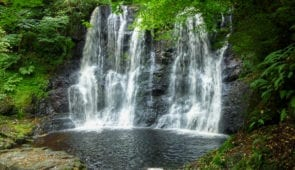 'Ess-Na-Crub' waterfall is within the beautiful Glenariff Forest Park