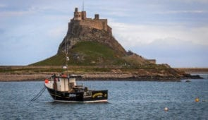 Lindisfarne Castle (Credit - Mari Leijo)